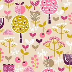 Retro Orchard Orchard for Dashwood Studios by Wendy Kendall