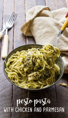 Skip the unhealthy additives with this Pesto Pasta with Chicken and Parmesan recipe—it's made with just four simple, all-natural ingredients and one Select by Calphalon™ pan for minimal clean-up. Simply toss Barilla® linguine with pesto, Parmesan cheese, and succulent NatureRaised Farms® Grilled Chicken. This will easily become your new favorite weeknight dinner recipe!