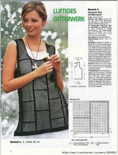 Häkeln Tunika Top  crochet