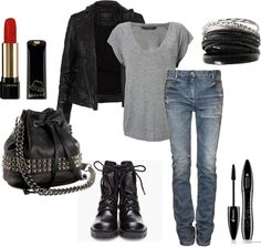 """just a biker yuh know"" by kkaylawoodssx on Polyvore"