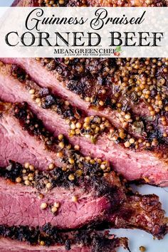 Our Guinness Braised Corned Beef is rendered to perfect tenderness in the Instant Pot and then quickly broiled in the oven to melt and crisp the fat cap. Dutch Oven Corned Beef, Best Corned Beef Hash, Best Corned Beef Recipe, Corned Beef Brisket Oven, How To Cook Brisket, Cooking Brisket, Corn Beef Brisket Recipe, Guinness, Green Chef