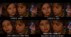 """Escena de la película """"Peter Pan: La gran aventura"""" (2003) <3 <3 <3"""