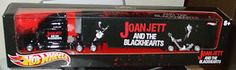 2012 HOT Wheels Joan Jett THE Blackhearts Legends OF Rock Semi Highway Hauler | eBay