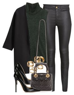 """""""Style #9447"""" by vany-alvarado ❤ liked on Polyvore featuring H&M, Calvin Klein Collection, Jimmy Choo and Apt. 9"""