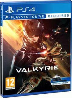 Eve Valkyrie (только для VR) [PS4]  — 3499 руб. —  Исследуйте сложную научно-фантастическую вселенную Eve Valkyrie, закаляясь в тяжелых схватках в глубоком космосе и совершая сногсшибательные тактические налеты на врагов на PlayStation VR.