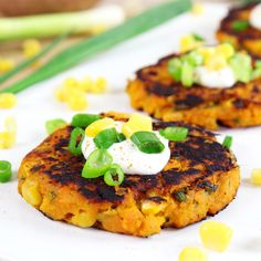 Mind Over Munch | Sweet Potato Corn Cakes
