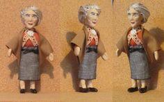 my Miss Marple Tom Adams, Miss Marple, Dollhouse Dolls, Detective, Disney Characters, Fictional Characters, Challenges, Disney Princess, Fantasy Characters