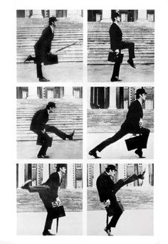 Monty Python Silly Walks - plakat - Galeria FLASH - eplakaty.pl