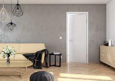 Moderní interiérové dveře Sapeli - LOTOS barva bílá reverzní Elegant, Sky Garden, Decor, Home Decor Decals, Home, Home Decor