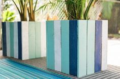 Upcycle Old Pallets Into Colorful Planter Boxes Easy Crafts and Homemade Decorating Gift Ideas HGTV