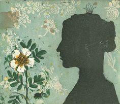 Kirsi Neuvonen, Muotokuva ruusun kanssa /  Portrait with a Rose (2012)