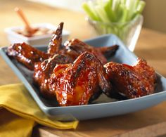 Heinz it Up! Try it with a Twist! Caribbean Baked Chicken Wings