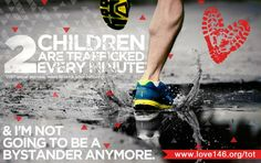 2 CHILDREN EVERY MINUTE are sold for sex....Run or walk The Red Run 5K to help end child sex trafficking! www.theredrun.org