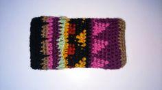 Tribal crochet phone case