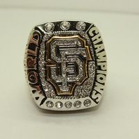 Newest Design Honor 2015 Sales Promotion Replica  2014 MLB San Francisco Giants Major League Baseball Championship Ring for Fans