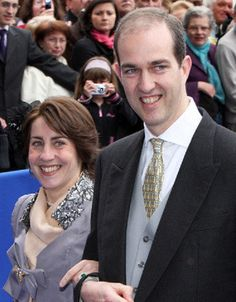 Prince Eudes of France and his wife Princess Marie-Liesse Rohan-Chabot