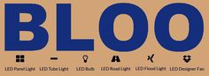 ARCHITECTS CHOICE -BLOO LED LIGHT - BEST SELLING BLOO LAMPS & LIGHTING FIXTURES -BLOO LED FLOOD