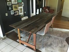 Free Local Classifieds Ads from all over Australia, Buy and Sell in your local area - Gumtree Timber Table, Ping Pong Table, Dining Tables, Industrial Style, Recycling, Furniture, Home Decor, Wood Table
