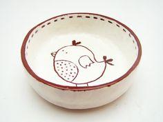 Little Bird Home Decor - Ceramic Housewares - Ring Holder - MADE TO ORDER on Etsy, $33.43