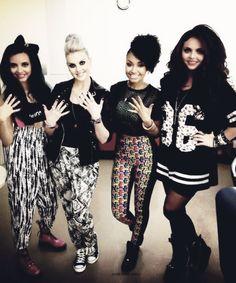 Little Mix. I love Jesy's jersey dresses