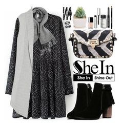 """""""Shein"""" by oshint ❤ liked on Polyvore featuring Duffy, Bobbi Brown Cosmetics, Chanel, Eva Fehren, women's clothing, women's fashion, women, female, woman and misses"""
