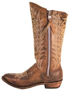 Old Gringo Razz Brown Zip Distressed Boots - L340-2 - 7.5 - M Old Gringo,http://www.amazon.com/dp/B00BFM3K40/ref=cm_sw_r_pi_dp_UUzfsb10FTB90RJY