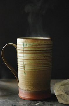 Kaitlan Murphy's Dessert Mug. Wheel thrown. More on Kaitlan Murphy and Jumping Creek Pottery can be found in the November 2016 issue of Ceramics Monthly.