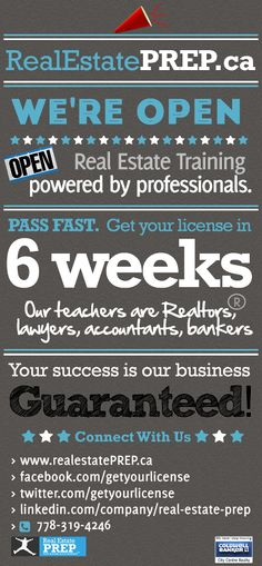 Real Estate Training, Real Estate License, Success, Teacher, Business, Store, Business Illustration