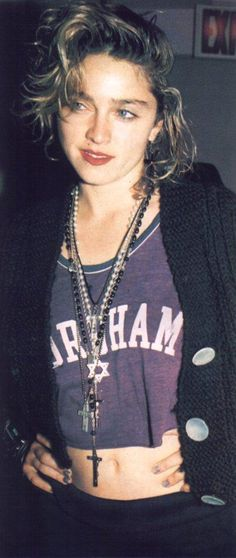 Madonna! loved her style!