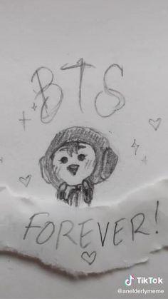 Bts Funny Videos, Bts Memes Hilarious, Cute Little Drawings, Funny Doodles, Bts Dancing, Min Yoonji, Bts Playlist, Album Bts, Bts Drawings