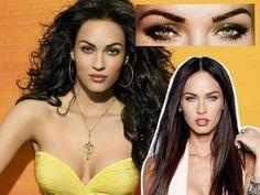 Megan Fox Eye Makeup Tutorial: Close Up Look At Almond Eyes