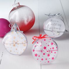 Personalised Jewellery Christmas Gift Bauble - tree decorations