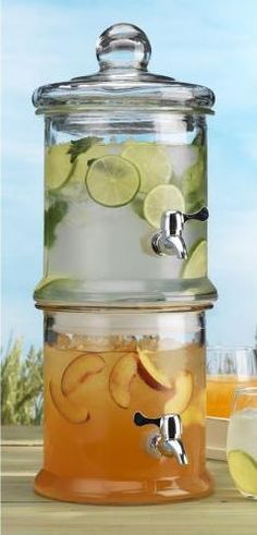 Hosting any parties??? You will want to enter and hopefully win this! A Double Tier Glass Beverage Dispenser! http://stylendecordeals.blogspot.com/2013/06/double-glass-beverage-dispenser-giveaway.html