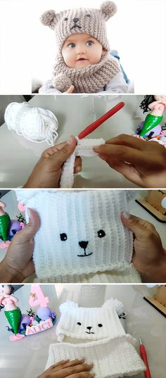 Wonderful Pic Crochet baby beanie Thoughts Crochet Baby Hat Anyone Can Make Crochet Baby Hat Patterns, Crochet Baby Beanie, Baby Hats Knitting, Knitted Hats, Knitting Patterns, Cute Beanies, Baby Beanies, Very Cute Baby, Crochet Instructions