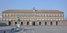 biblioteca nazionali Vittorio Emanuele III Napoli Italia ha sede nel Palazzo Reale - Cerca con Google