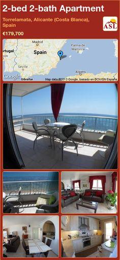 2-bed 2-bath Apartment in Torrelamata, Alicante (Costa Blanca), Spain ►€179,700 #PropertyForSaleInSpain