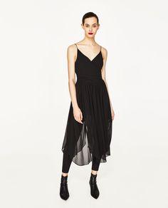 Imagem 1 de VESTIDO SAIA CAPA LEGGINGS da Zara