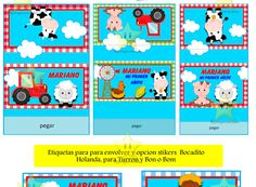 Kit Imprimible Candy Bar Animalitos De La Granja Golosinas – kit imprimibles