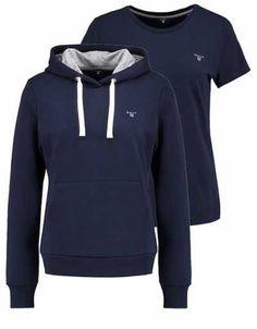 Gantset Camiseta Básica Thunder Blue camisetas y blusas abrigos y chaquetas Thunder Gantset camiseta Blue básica Noe.Moda