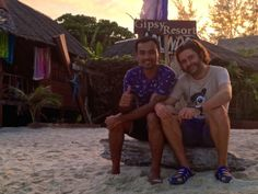 Rob and Krom, owners of Gipsy Resort