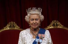 Wax statue of HRH Queen Elizabeth II.  No, it's not her, it's a statue.  Isn't that crazy?  The likeness is insane!