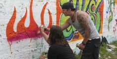Graffiti-Workshop in Dortmund NRW #Kunst #Kultur #Schrift