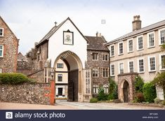 Norwich Cathedral, Norfolk, Gate, Stock Photos, Mansions, Drawing, House Styles, Portal, Manor Houses