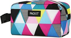 Amazon.com: PackIt Freezable Snack Box, Triangle Stripes: Kitchen & Dining Disney World Trip, Disney Trips, Single Stroller, Double Strollers, What In My Bag, Snack Box, Jansport Backpack, Diaper Bag, Triangle