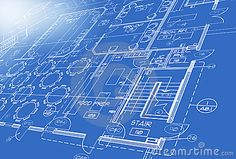 Illustration about Blue print Plan showing stairs, tables, chairs. Illustration of blueprint, chairs, construct - 6916494 Architecture Blueprints, Architecture Plan, Art Pictures, Art Images, Blueprint Art, Communication Design, Home Logo, Free Illustrations, Vector Graphics