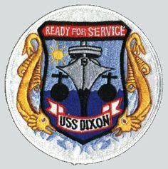 USS Dixon (AS-37) - 1970.