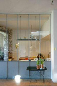 Cor Interior Architecture, Interior And Exterior, Interior Design, Crittal Doors, Crittall Windows, Küchen Design, House Design, Glass Partition Wall, Room Deco