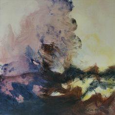 Studie 06, 2000 (P.Wienand) Acryl auf Leinwand/Holz, 25 x 25 cm