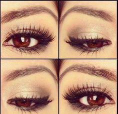 Coole Schminktipps für braune Augen -