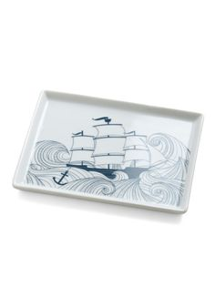 I saw this dish up in Prtland and now Modcloth has it!!!!  I need.   Swell Acquainted Dish, #ModCloth